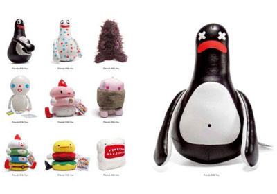 平台玩具:klanten玩偶设计(组图)